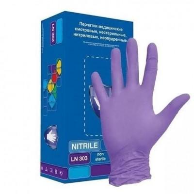 Нитриловые перчатки раз S
