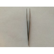 Пинцет для наращивания ресниц изогнутый