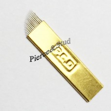 Игла 14 G gold